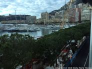 PORT PALACE HOTEL, MONACO, VIEW FROM THE ROOM 007