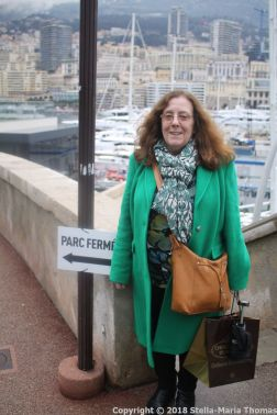 WALKING DOWN FROM THE PALACE, MONACO 004