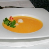 6th-gwa---dresden-alte-meister---curried-pumpkin-soup-with-coconut-milk-and-prawns-001_3095456470_o