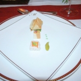 6th-gwa---dresden-restaurant-maurice-amuse-bouches-lobster-won-ton-pate-lobster-sushi-001_3095750753_o