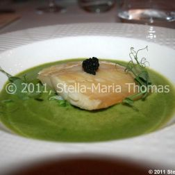 artisan-may-2011---slow-cooked-smoked-haddock-with-caviar-crushed-peas-and-pea-soup-007_5752183164_o
