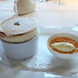 birthday-lunch-le-manoir-passion-fruit-souffle-banana-ice-cream-mango-salad-13th-february-2008-001_2264939935_o