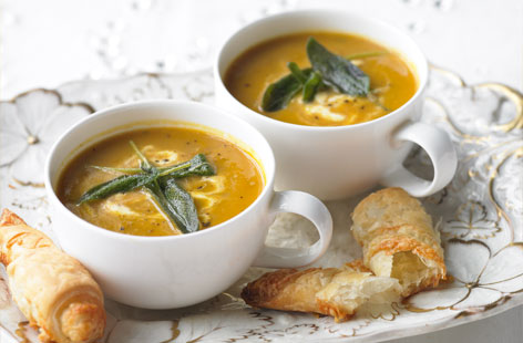 Food 2012 – Recipes (Chestnut and CarrotSoup)