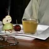 dinner-artisan-16th-february-2008---apple-sorbet-toffee-apple-apple-jelly_2272723300_o