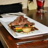 dinner-artisan-16th-february-2008---lamb-fondant-potatoes-lamb--mint-sausages_2271930817_o