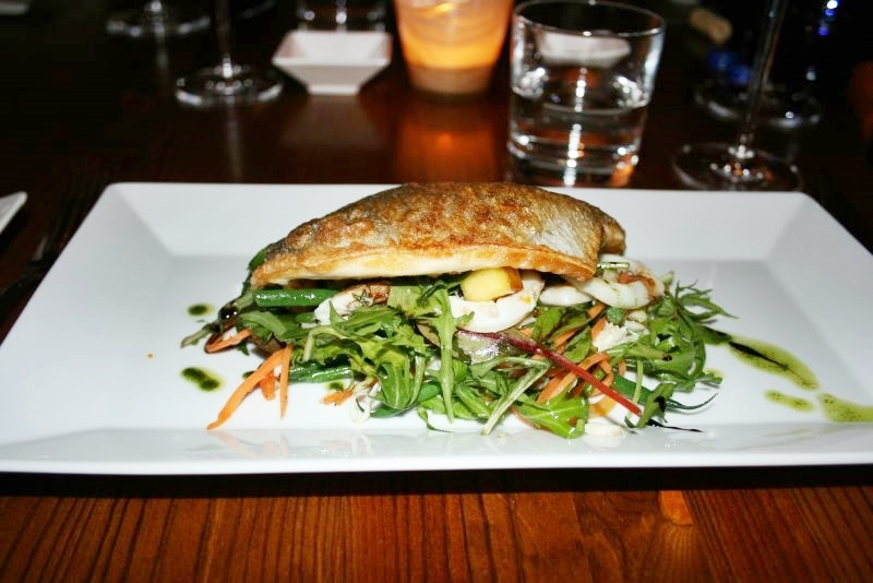 dinner-artisan-16th-february-2008---sea-bream-squid-crab-vegetables_2271931151_o