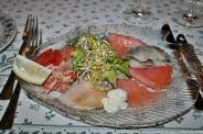 hirsch-scandinavian-starter-smoked-trout-smoked-salmon-sweetwater-prawns-rollmop-herring-006_3618194508_o