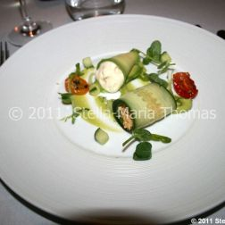 roger-hickmans-restaurant---crab-salad-with-avocado-puree-lemon-grass-mousse-and-confit-tomatoes-005_5722276264_o