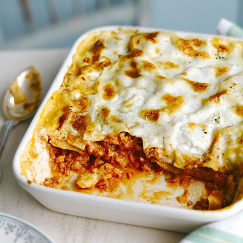 Food 2005 – Recipes (Lasagne with Turkey (or Veal))