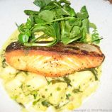 185 WATLING STREET, MARCH, SALMON WITH CLAMS AND POTATOES 003