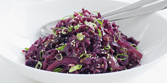 Food 2018 – Recipes (Onion Fritters, Chinese Braised Red Cabbage)