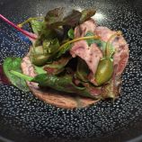 LE CIGALON, BRAISED VEAL HEAD, SALAD AND MUSTARD DRESSING 007