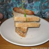TEN HANDS CAFE, SAUSAGE SANDWICH 003