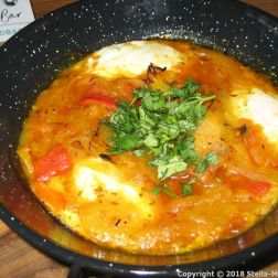 TEN HANDS CAFE, SHAKSHUKA 004