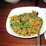 THE GANGES, AUBERGINE BHAJI 007
