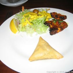 THE GANGES, LAMB SAMOSA, LAMB CHOPS 005