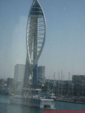 CAP FINISTERRE, ARRIVING IN PORTSMOUTH 010