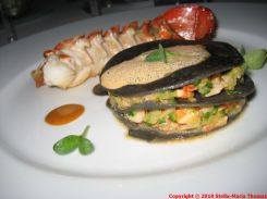 CHATEAU D'ETOGES, MENU GOURMANDE, LOBSTER TWO WAYS, CRUSTACEAN SAUCE 005
