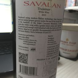 SAVALAN, TRAMINER 2013 002