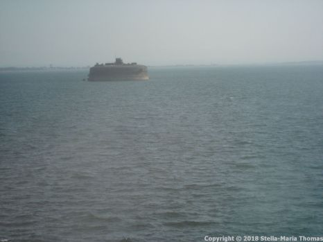 CAP FINISTERRE, ARRIVING IN PORTSMOUTH 001