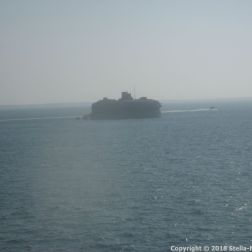 CAP FINISTERRE, ARRIVING IN PORTSMOUTH 003