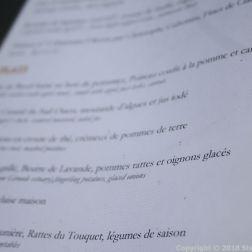 HOTEL RESTAURANT LA CITADELLE, BLAYE, MENU 008