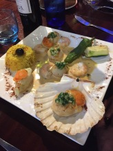 LE DAUPHIN, PAU, SCALLOPS AND PRAWNS 005