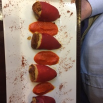 LE DAUPHIN, PAU, STUFFED PEPPERS 003