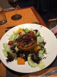 PRIDE OF ROTTERDAM, THE BRASSERIE, GOAT'S CHEESE TART 003