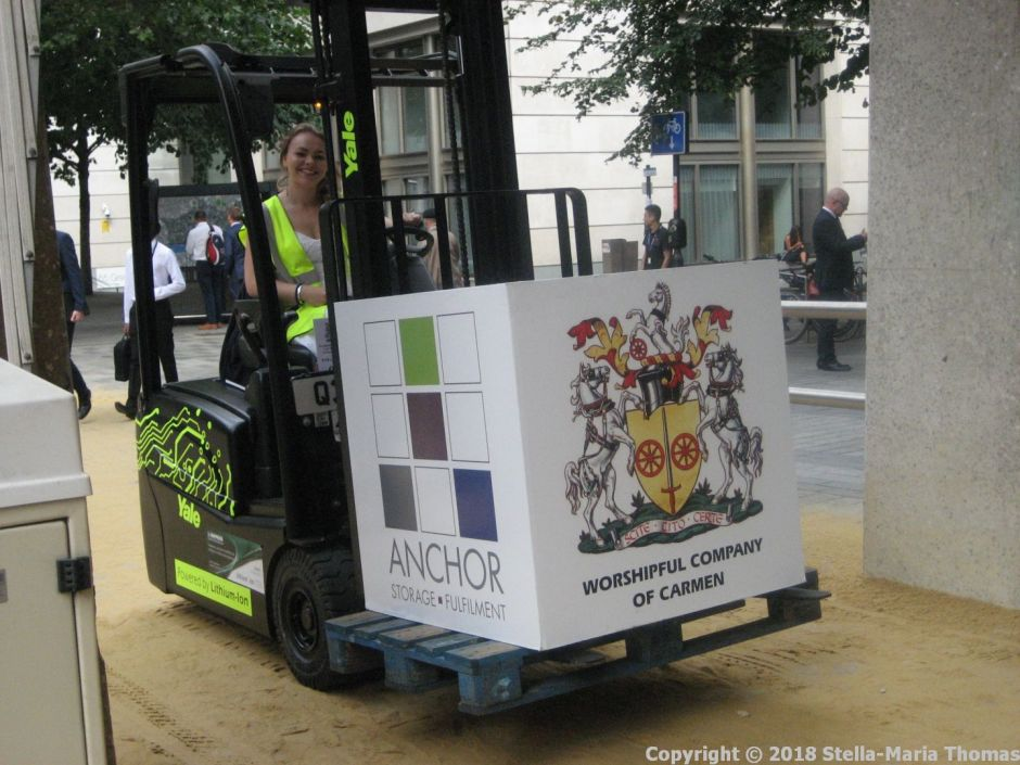 WORSHIPFUL COMPANY OF CARMEN, CART MARKING 2018 132