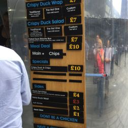 SPITALFIELDS MARKET, THE DUCK TRUCK 008