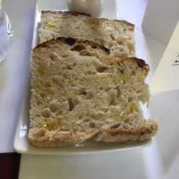 THE HARROW AT LITTLE BEDWYN, BREAD, OIL, BEAN SPREAD 001