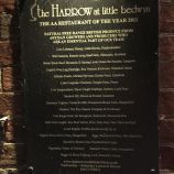THE HARROW AT LITTLE BEDWYN, SUPPLIER BOARD 028