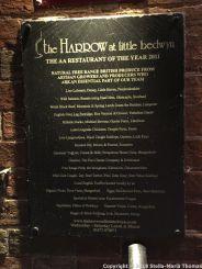 THE HARROW AT LITTLE BEDWYN, SUPPLIER BOARD 028