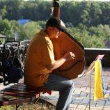 MAN PLAYING A BANDURA, CHERNIHIV 001
