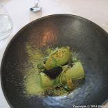 HIBISCUS, MATCHA TEA YOGHURT PARFAIT, CORIANDER ICE CREAM, LIME 013