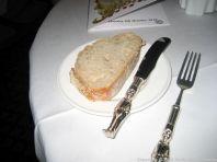 LE GAVROCHE, GAME DINNER, BREAD 005