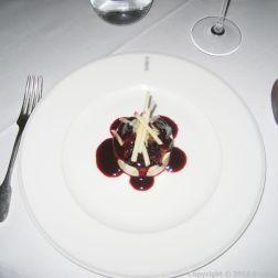 LE GAVROCHE, GAME DINNER, PARFAIT À LA VANILLE, MÛRES ET POMMES 013