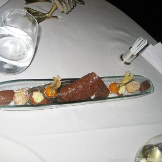 LE GAVROCHE, GAME DINNER, PETIT FOURS 014
