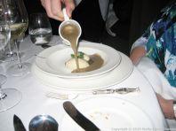LE GAVROCHE, GAME DINNER, POTAGE ESSAÜ (PUY LENTIL AND PHEASANT SOUP) 007