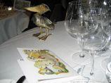 LE GAVROCHE, GAME DINNER, TABLE 001