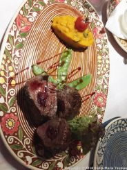 TSARSKE SELO, VEAL STUFFED WITH CHERRIES WITH CARROT PUREE 026