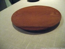 ASK, WOODEN PLATE FOR BREAD 010