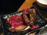 GAIJIN, PORK BELLY AND RED CABBAGE (ROASTED PORK BELLY, SOY-MIRIN CARAMEL, PICKLED RED CABBAGE) 010