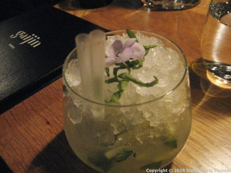 GAIJIN, SHISO KIRI (ABSOLUT VODKA, SHISO, GINGER, LIME) 002
