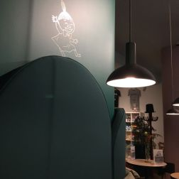 MUMIN CAFE, WALL DECORATION 006