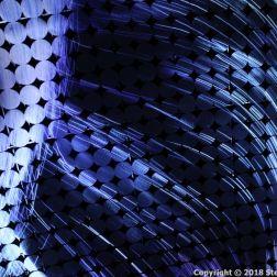 VORTEX OF LIGHT PARTICLES, AMOS REX 007