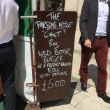 GUILDHALL LUNCH MARKET, THE PARSON'S NOSE 001