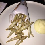 KODBYENS FISKEBAR, JANUARY 2019, WHITEBAIT WITH LEMON MAY0 010