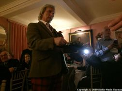 WILLIAM SITWELL'S BURNS NIGHT SUPPER CLUB, THE HAGGIS 006